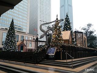 中環 CENTRAL HONGKONG 皇后像廣場 2015 CIRCLEG 聖誕裝飾 (1)