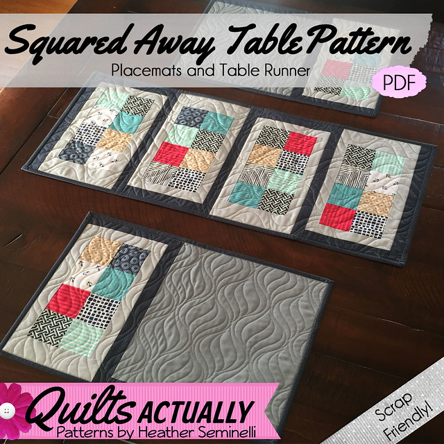 Squared Away Table Square Cover