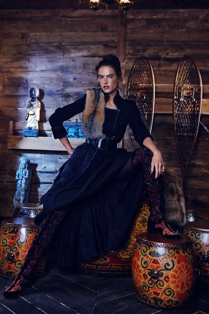 Алессандра Амбросио — Фотосессия для «Harper's Bazaar» KZ 2015 – 7