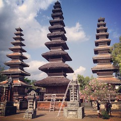 The biggest hindu temple in Lombok