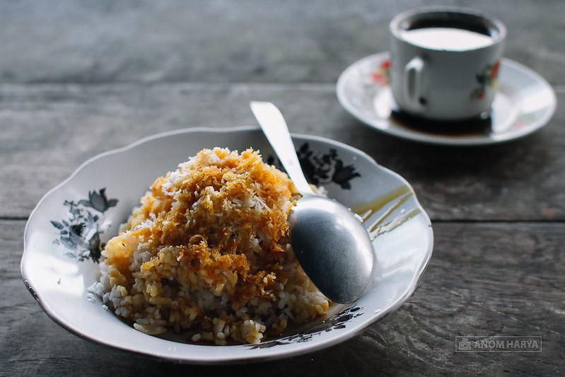 Ketan Kratok - Makanan khas Probolinggo