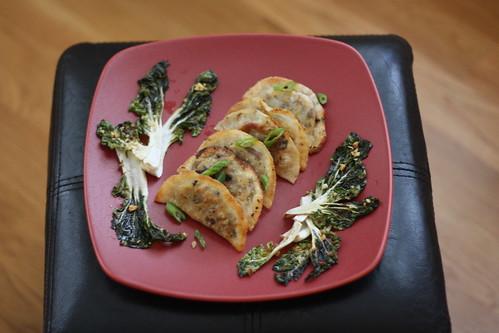 Shiitake Mushroom & Cabbage Dumplings