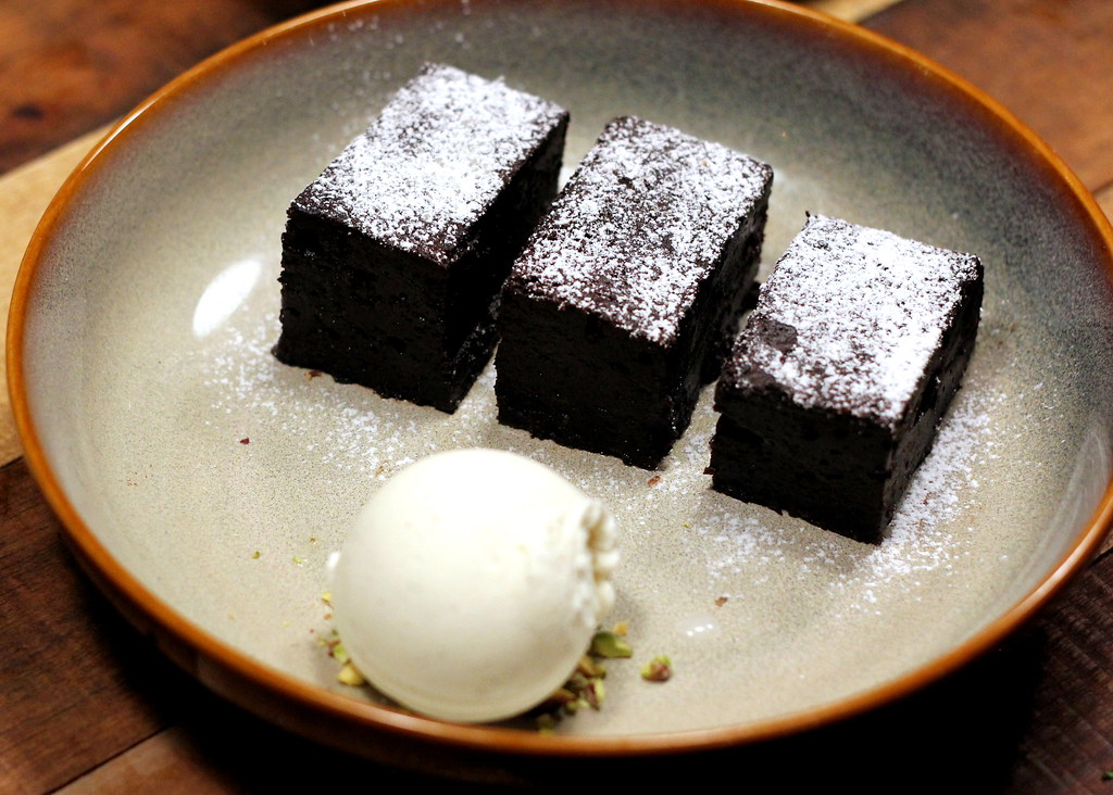 The Chop House: Hot Chocolate Brownie