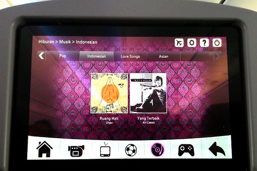 Inflight Entertainment Batik Air