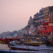Boats and Tourists Gather on the Ghats at Varanasi.jpg