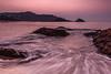 A Sunrise at Om Beach, Gokarna by arunchs