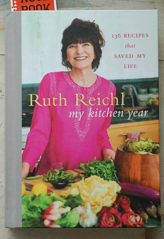Cover of My Kitchen Year by Ruth Reichl by Eve Fox, the Garden of Eating, copyright 2016