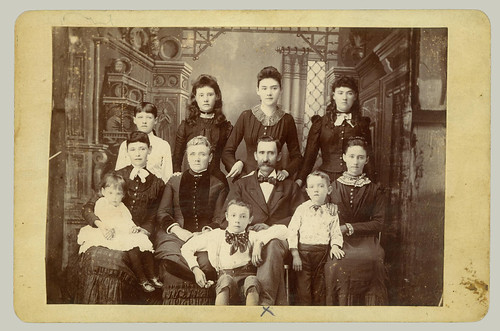 Cabinet Card family group