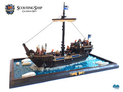Scouting Ship of the Calderian Navy