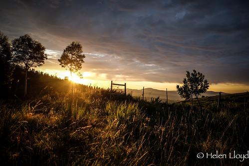 Sunrise on day 4