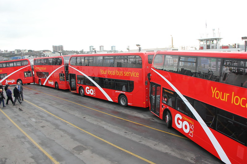 Go Cornwall New Bus Launch