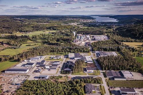 sverige swe västragötaland flygfoto timmele annestorp