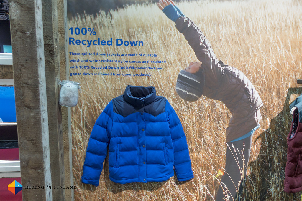 Patagonia Recycled Down