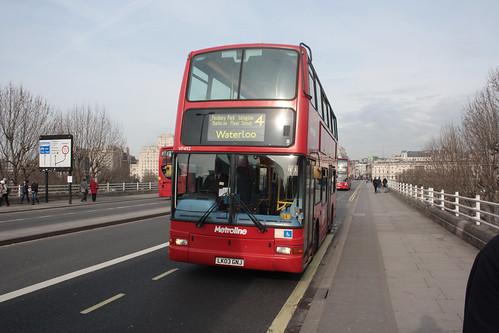 Metroline VP492 LK03GNJ
