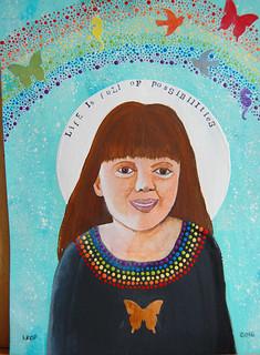 Week 7 - Dream Inspiration - Self-portrait 1