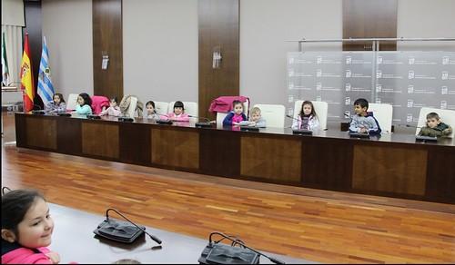 Visita alumnos 1º Primaria CEIP Virgen del Pilar