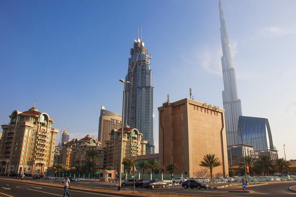 en dag i Dubai