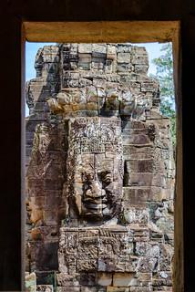 Image of Bayon Temple. cambodia kh siemreap krongsiemreap