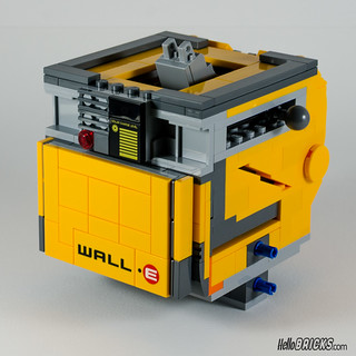 REVIEW LEGO 21303 WALL-E LEGO IDEAS 09