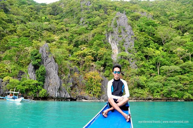marxtermind at Cadlao Lagoon Palawan
