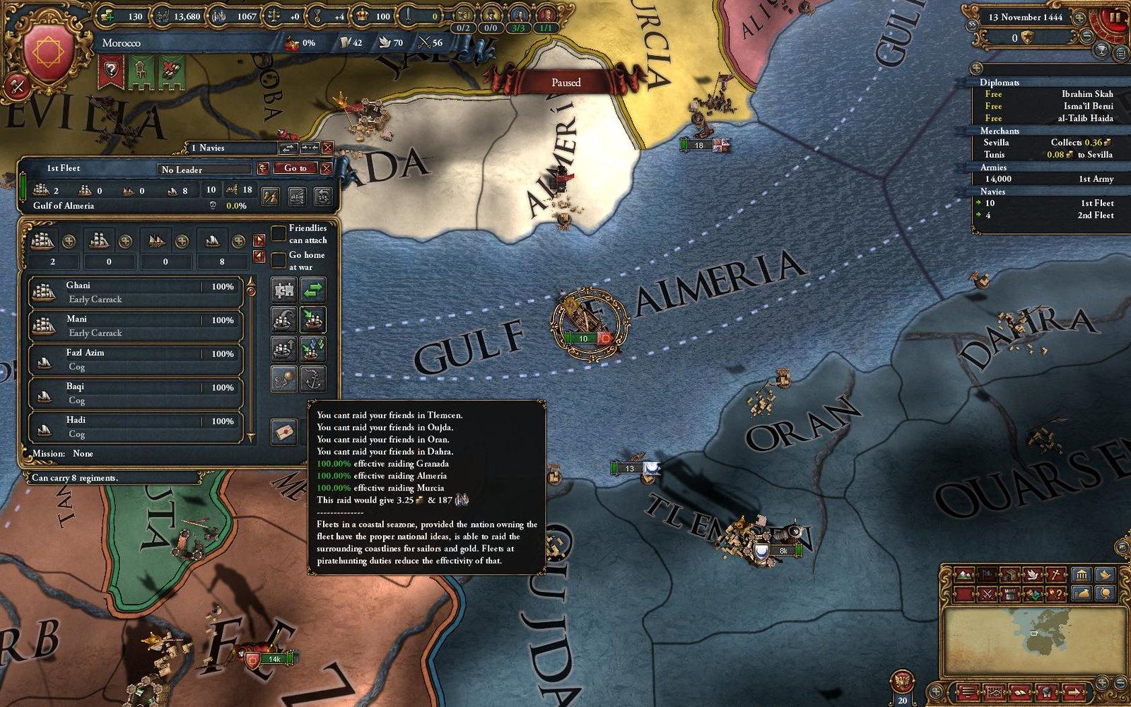 EU IV asaltos marinos
