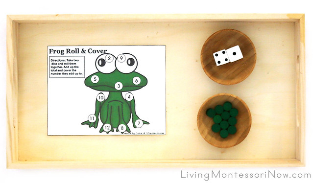 Frog Roll & Cover Tray
