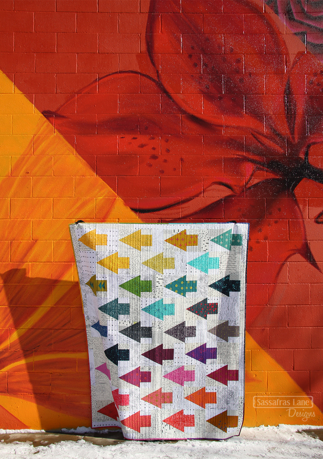 One Way in Alison Glass Fabrics