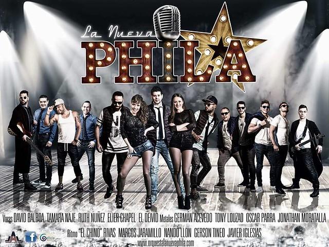 La Nueva Phila - orquesta - cartel