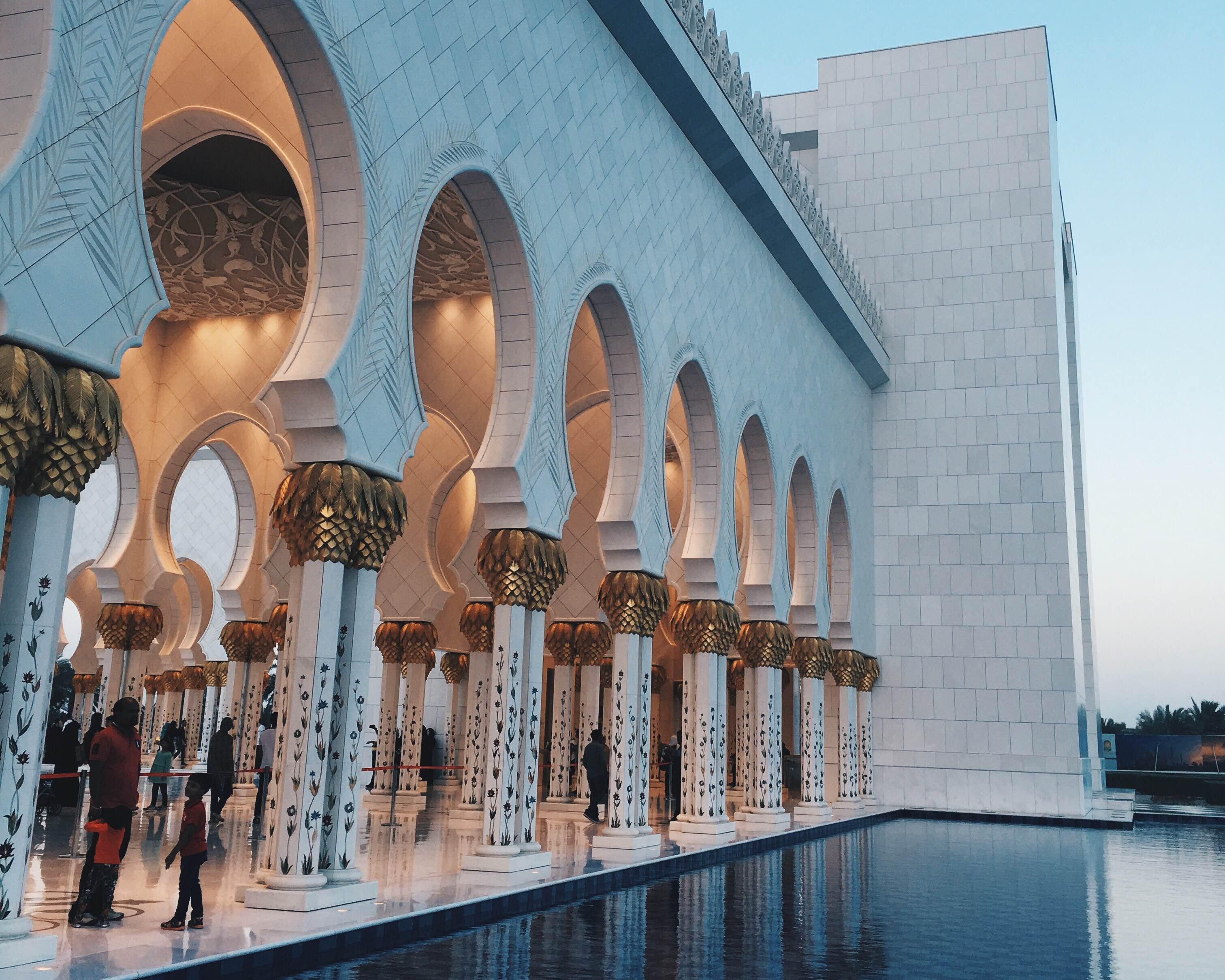Grande Mosquée Cheikh Zayed // Abu Dhabi