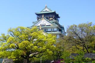 Osaka Castle, Tenshu (Keep) -1 (April 2010)