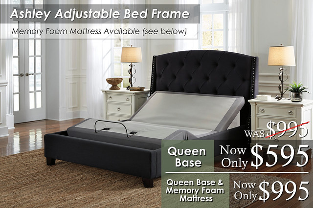 Ashley Adjustable Bed Frame Special