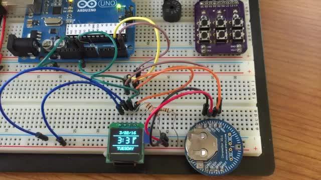 OLED Clock Alarm