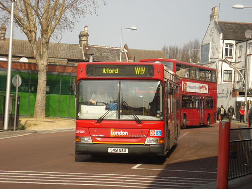 Blue Triangle LDP205 on Route W19, Walthamstow Central, 24/03/12