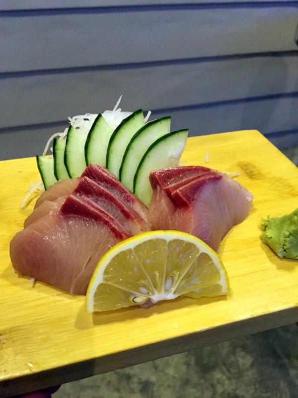 Oedo Japanese Restaurant- Hamachi Sashimi P530