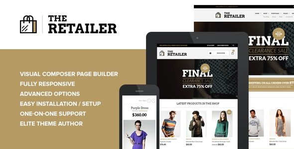 The Retailer v2.6.4 - Responsive WordPress Theme