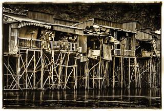 Mekong River Fishing Village, Cambodia