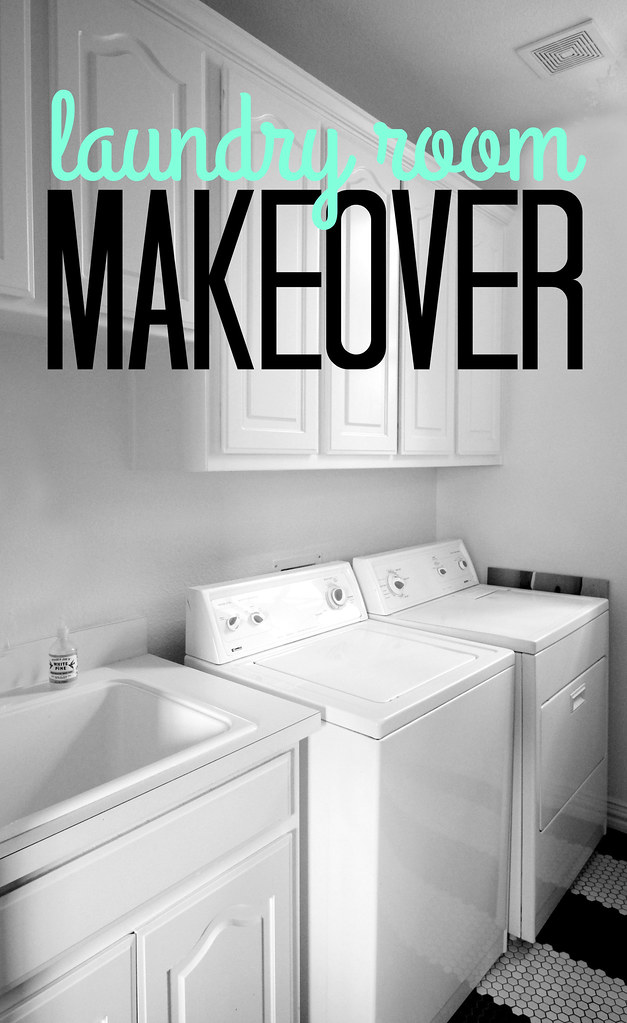 Hi Sugarplum | Laundry Room Makeover