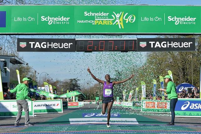 Maratón de Paris 2016