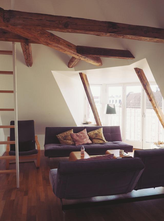 Copenhagen penthouse apartment
