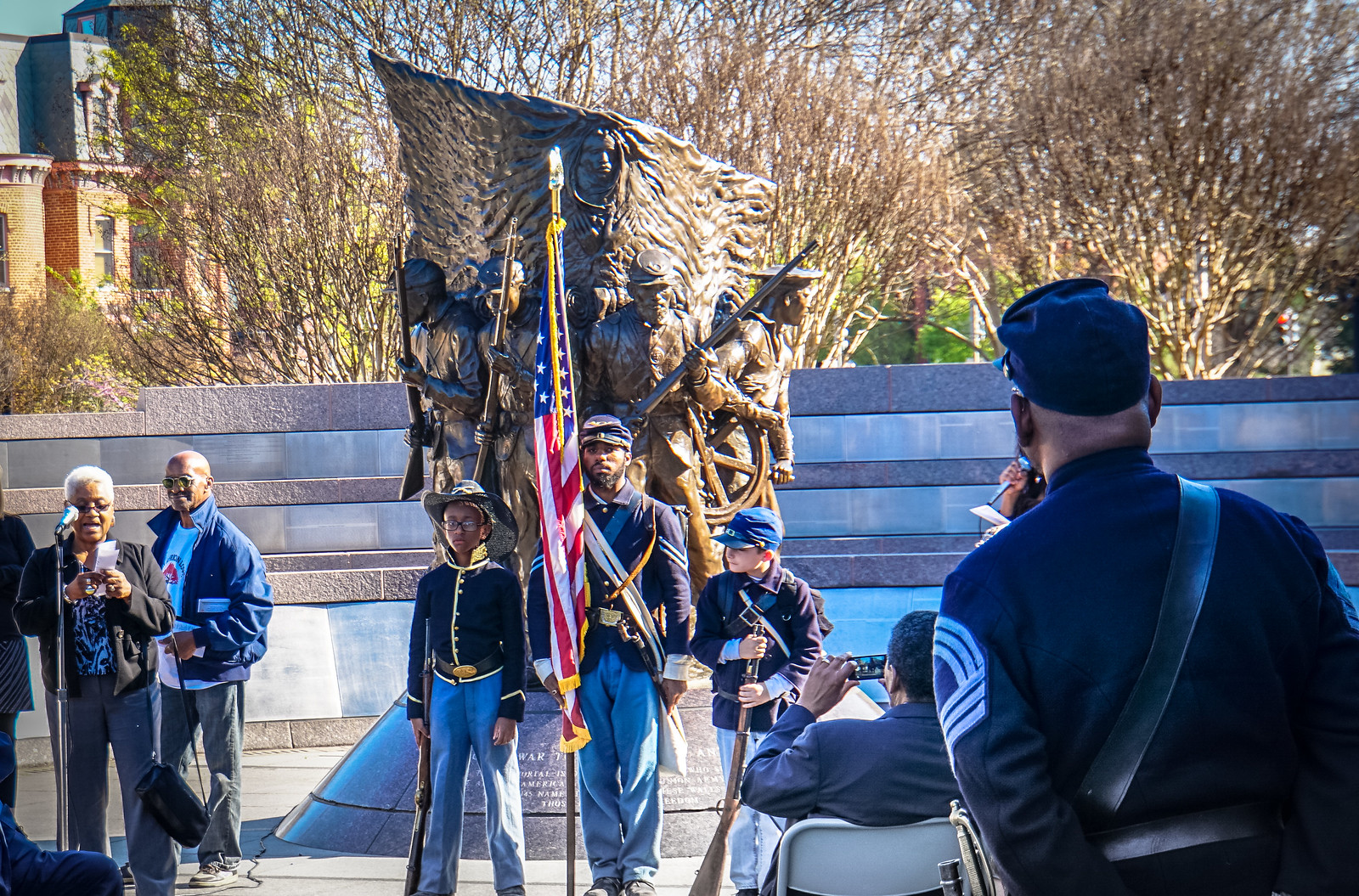 2016.04.19 Emancipation Day - African American Civil War Memorial 04