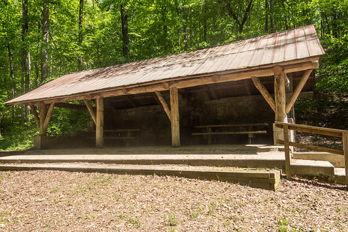 Wildcat Creek Shelter - 1