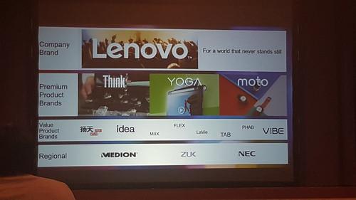 ทิศทางของแบรนด์ต่างๆ ภายใต้ชื่อ Lenovo