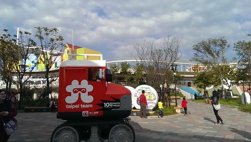 台北兒童新樂園設施好好玩!誰說遊樂園是兒童的專利呢! (2)