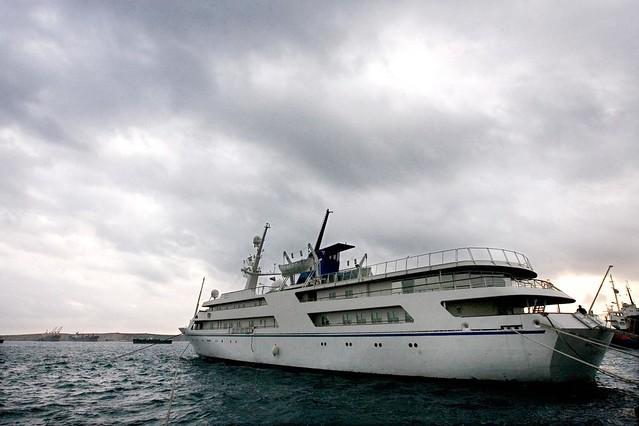 Яхта Саддама Хусейна Liberace Babylon