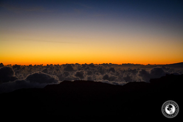 Mount Haleakala Just Before Sunrise
