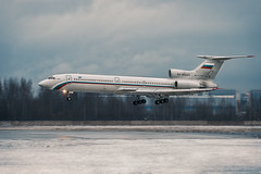 Tupolev Tu-154 by The best from aviation