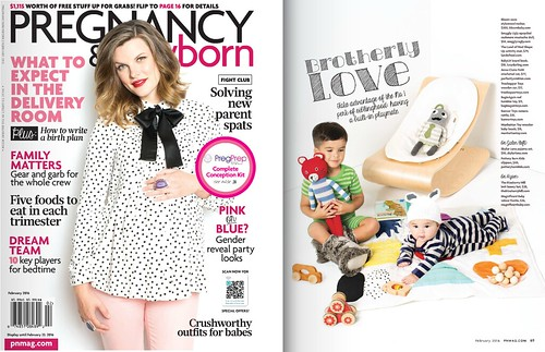 Snuggly Ugly+Pregnancy & Newborn's February issue!