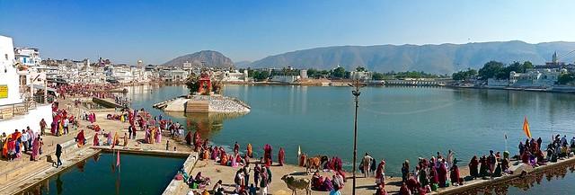 Serene Pushkar Lake