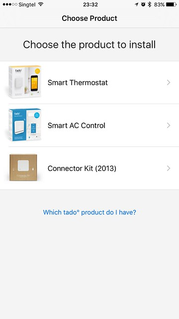 tado iOS App - tado Products