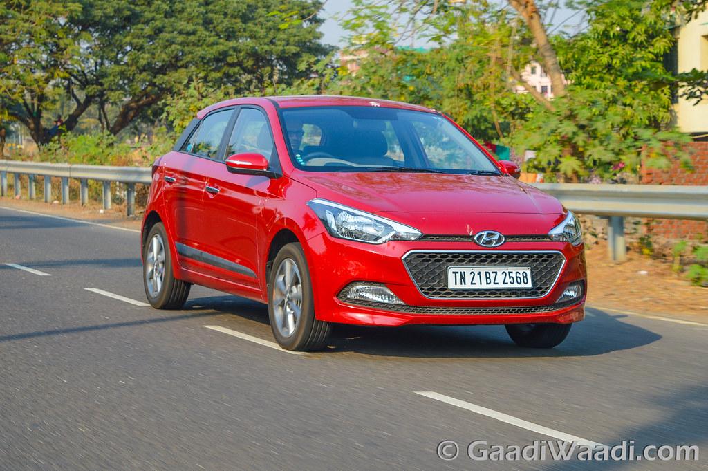 Hyundai Elite i20 AVN Test drive review-41